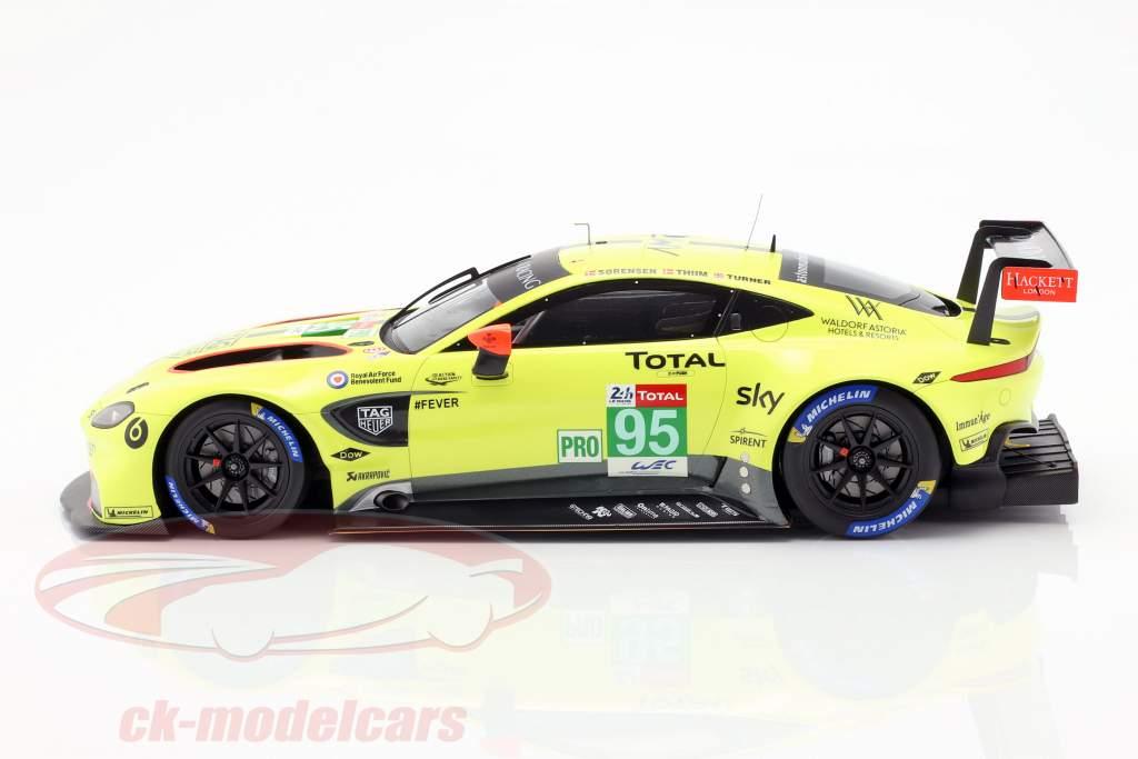 Aston Martin Vantage GTE #95 24h LeMans 2018 Thiim, Sörensen, Turner 1:18 Spark