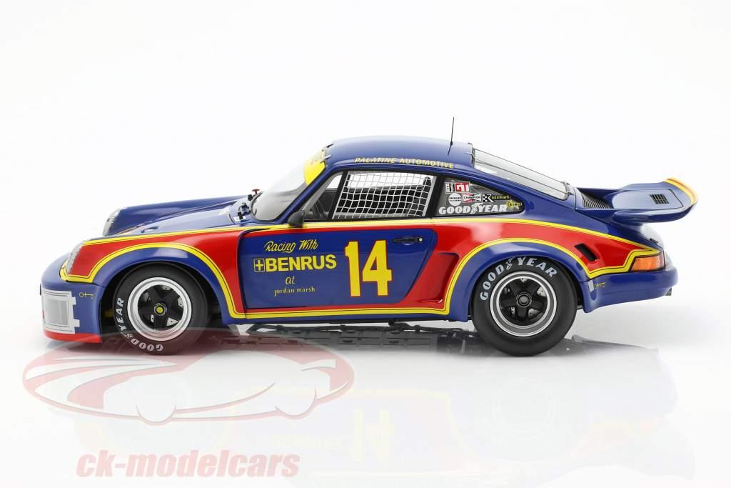 Porsche 911 Carrera RSR #14 vincitore 12h Sebring 1976 Holbert, Keyser 1:18 Spark