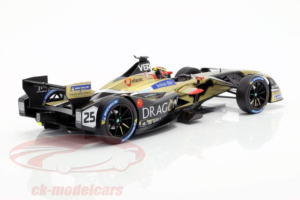 J.-E. Vergne Renault Z.E.17 #25 ganador New York fórmula E 2017/18 1:18 Spark