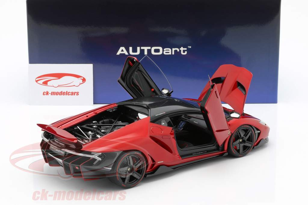 Lamborghini Centenario LP770-4  year 2017 red metallic 1:18 AUTOart
