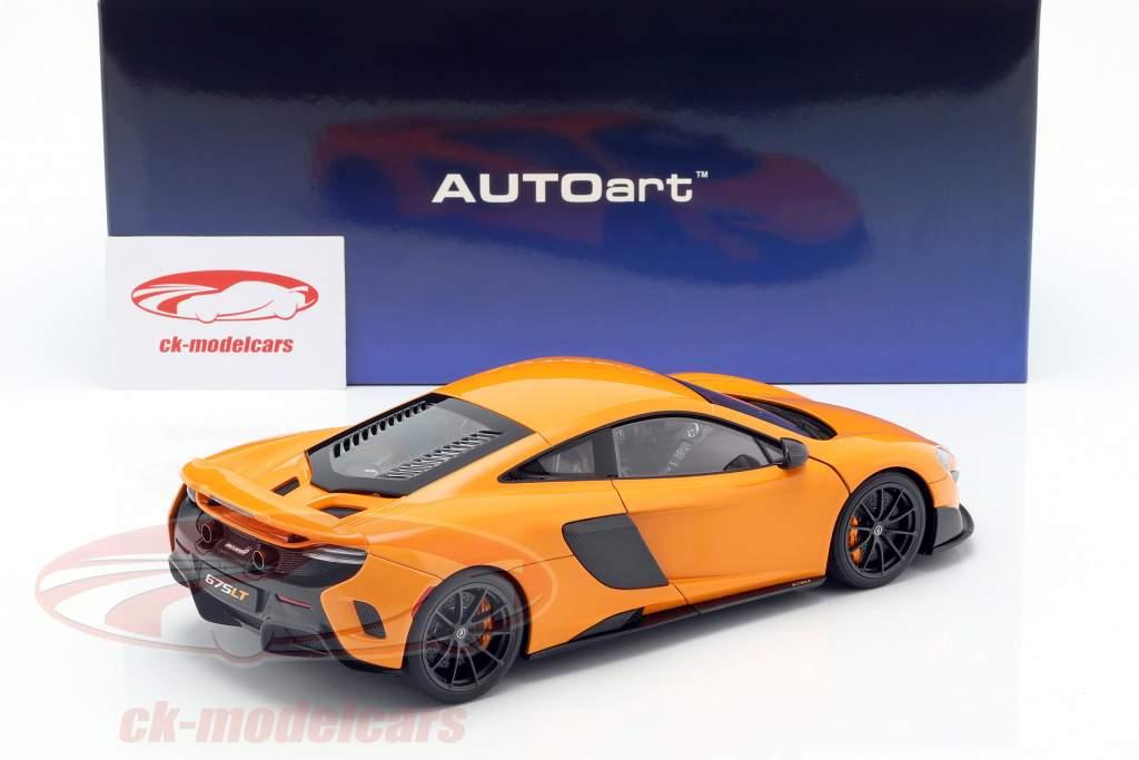 McLaren 675LT año de construcción 2016 McLaren naranja 1:18 AUTOart