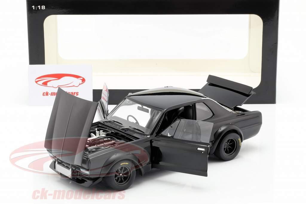 Nissan Skyline GT-R (KPGC-10) Racing Construction year 1972 black 1:18 AUTOart