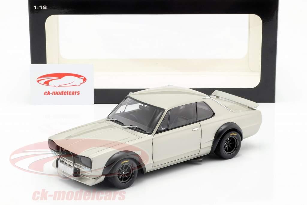 Nissan Skyline GT-R (KPGC-10) Racing anno di costruzione 1972 argento 1:18 AUTOart