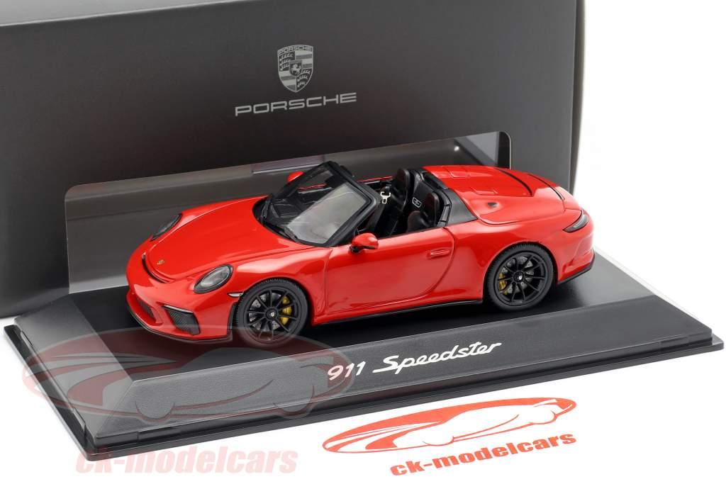 Porsche 911 (991 II) Speedster ano de construção 2019 indiano vermelho 1:43 Spark