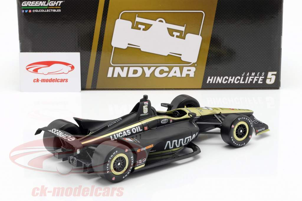 James Hinchcliffe Honda #5 Indycar Series 2019 Arrow Schmidt Peterson Motorsports 1:18 Greenlight