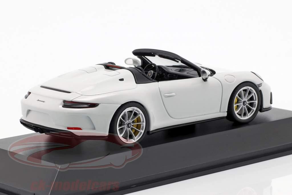 Porsche 911 (991 II) Speedster Opførselsår 2019 hvid 1:43 Spark