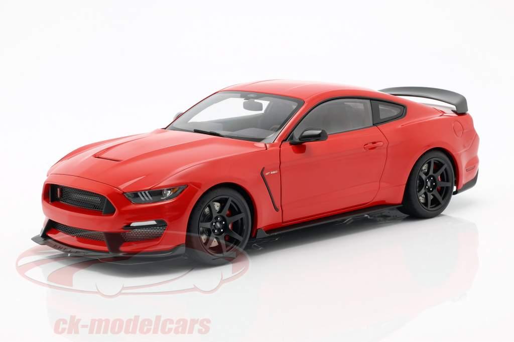 Ford Mustang Shelby GT350R année de construction 2017 course rouge 1:18 AUTOart