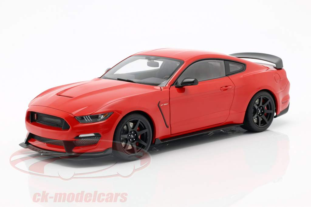 Ford Mustang Shelby GT350R Baujahr 2017 race rot 1:18 AUTOart