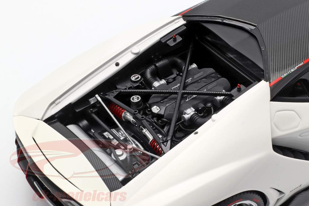 Lamborghini Centenario LP770-4 Opførselsår 2017 solid hvid 1:18 AUTOart