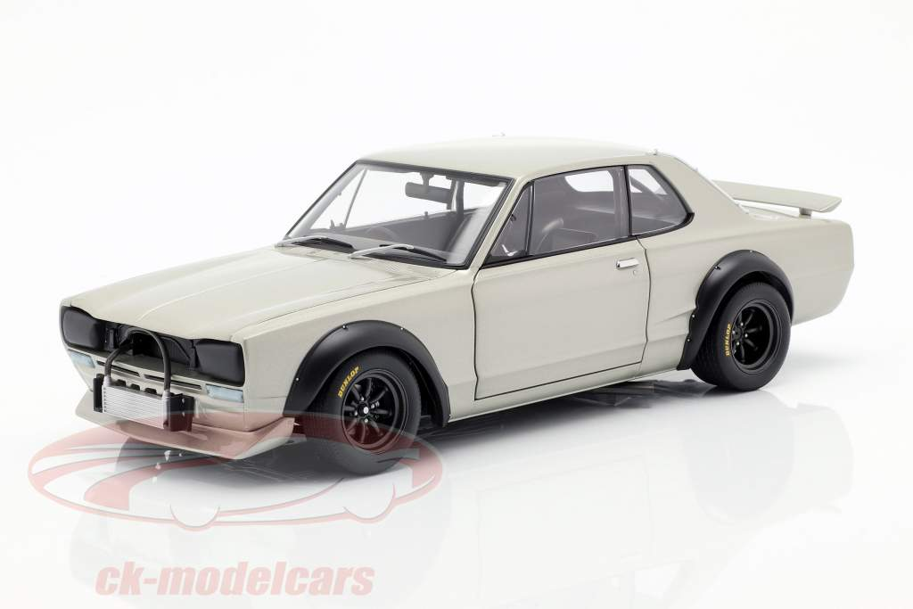 Nissan Skyline GT-R (KPGC-10) Racing Construction year 1972 silver 1:18 AUTOart