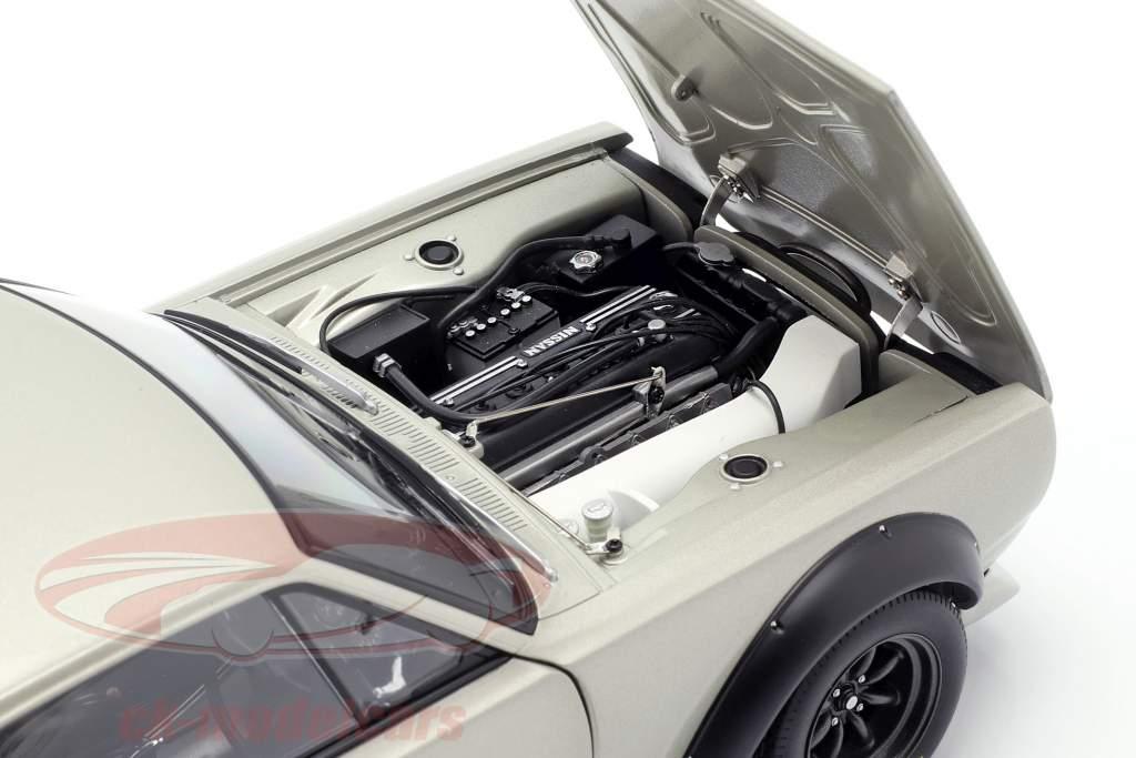 Nissan Skyline GT-R (KPGC-10) Racing Bouwjaar 1972 zilver 1:18 AUTOart