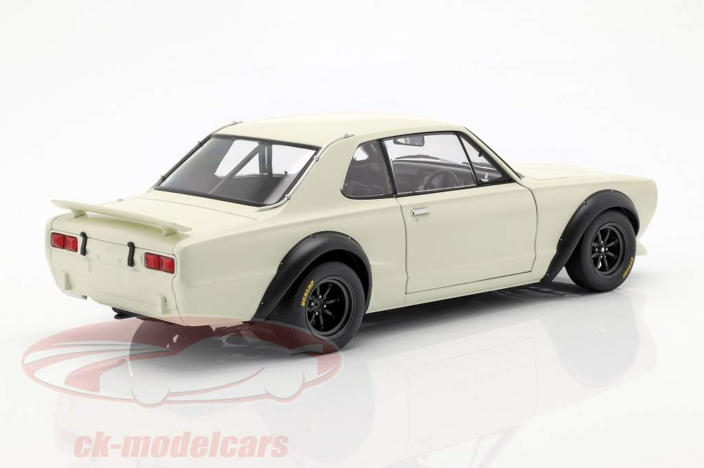 Nissan Skyline GT-R (KPGC-10) Racing année de construction 1972 blanc 1:18 AUTOart