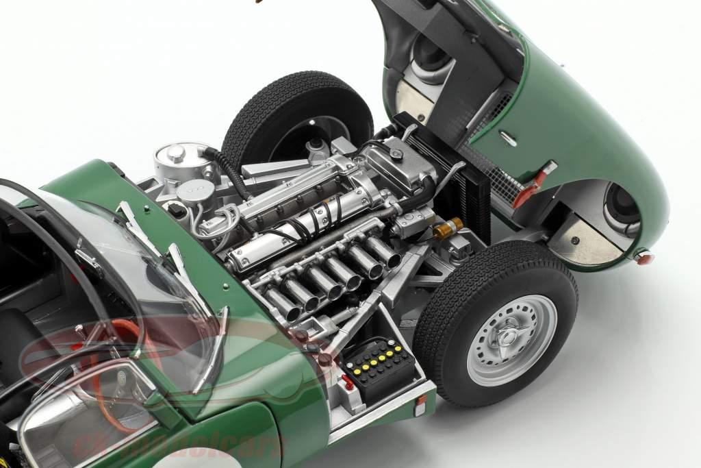 Jaguar Lightweight E-Type met verwijderbaar top donkergroen 1:18 AUTOart