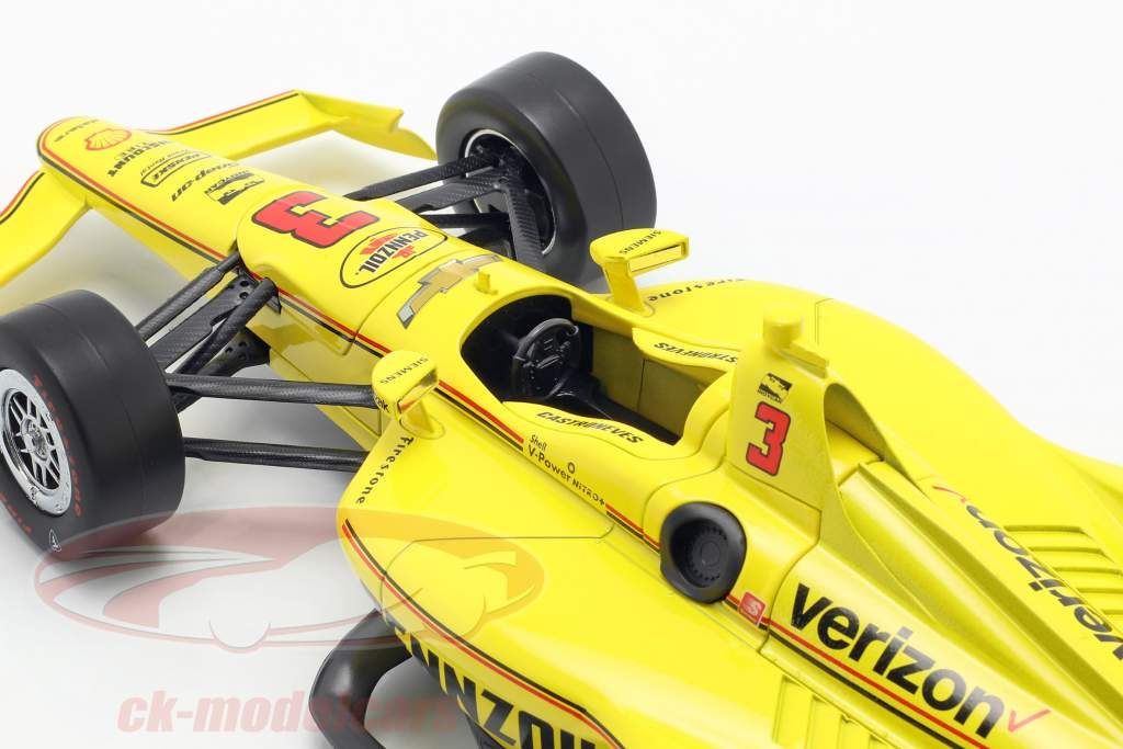 Helio Castroneves Chevrolet #3 Indycar Series 2019 Team Penske 1:18 Greenlight