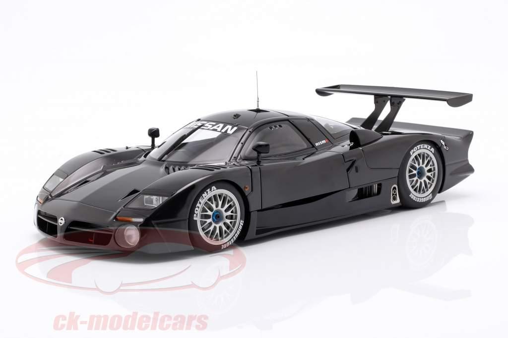 Nissan R390 GT1 LeMans année de construction 1998 brillant noir 1:18 AUTOart