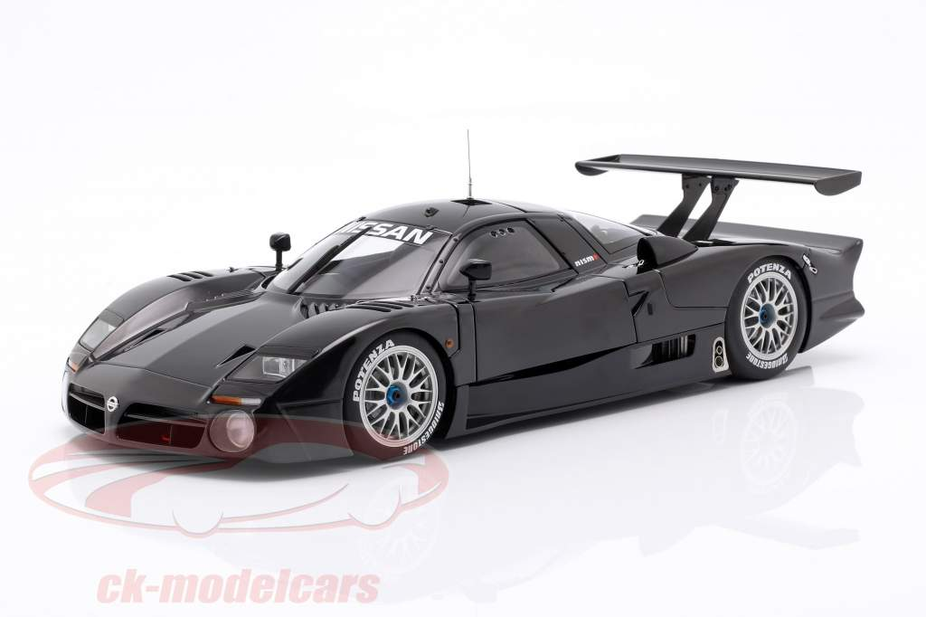 Nissan R390 GT1 LeMans year 1998 gloss black 1:18 AUTOart
