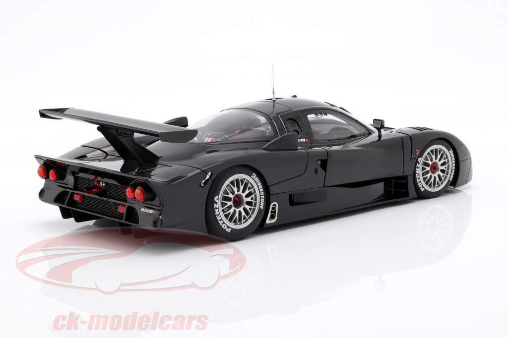 Nissan R390 GT1 LeMans anno di costruzione 1998 lucidare nero 1:18 AUTOart