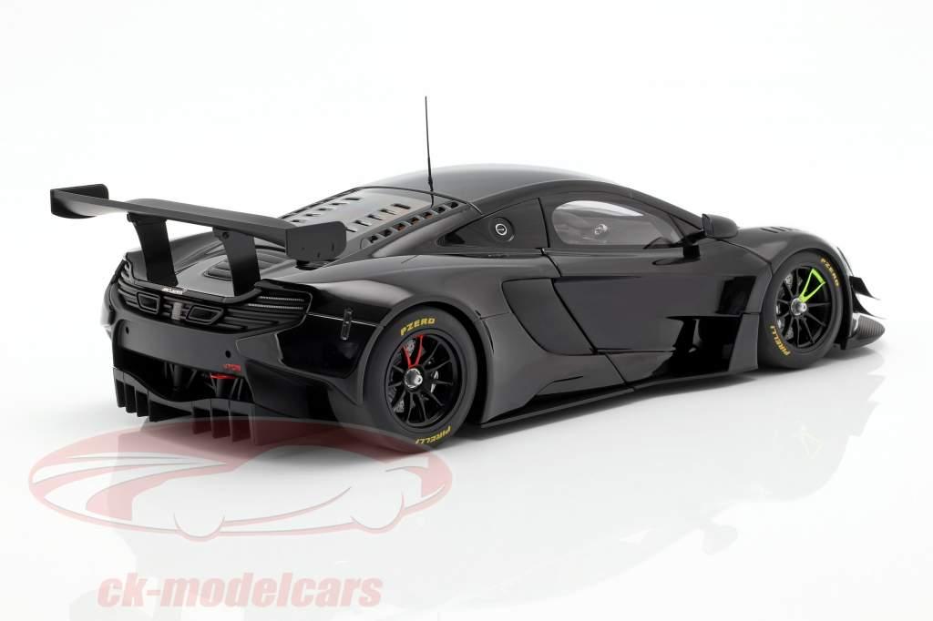 McLaren 650S GT3 Baujahr 2017 schwarz glänzend 1:18 AUTOart