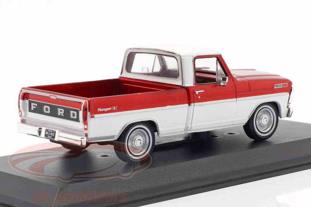 Ford F-100 Pick-Up lastbil Opførselsår 1970 rød / hvid 1:43 Greenlight