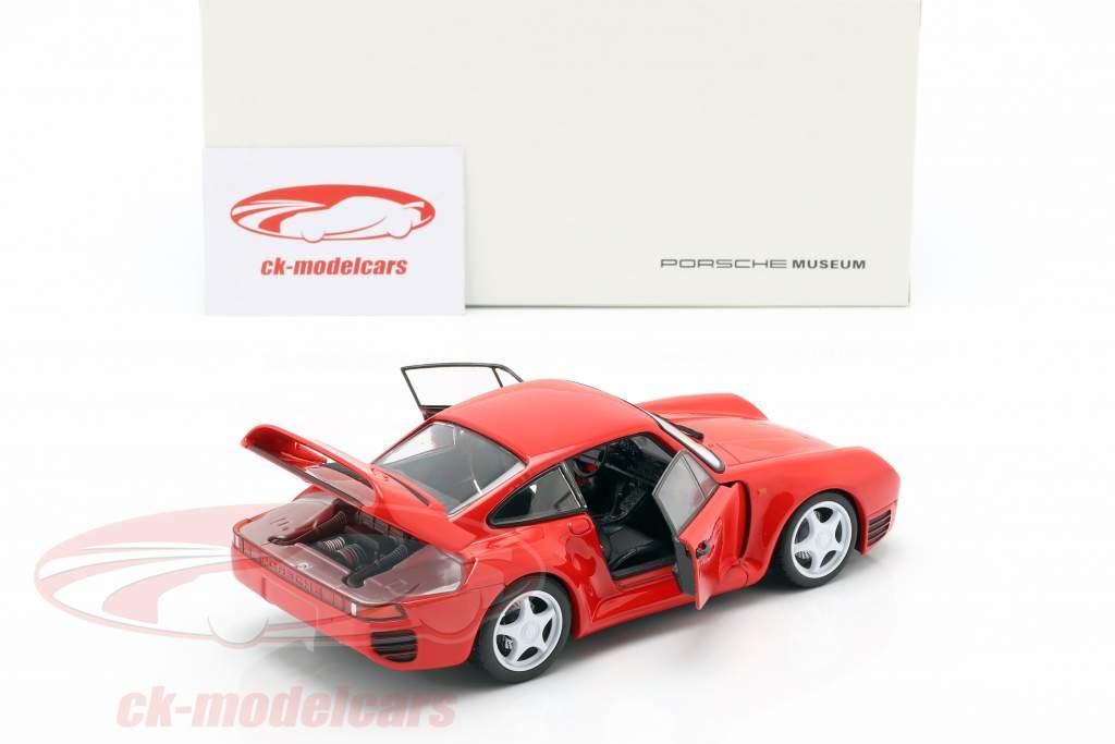 Porsche 959 année de construction 1986-88 gardes rouge 1:24 Welly