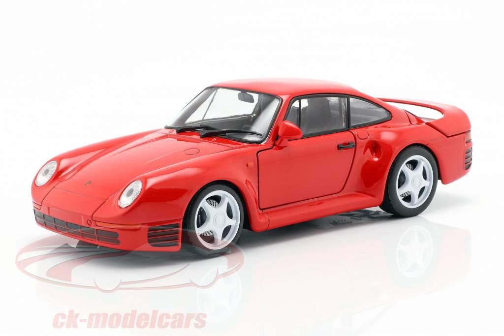 Porsche 959 anno di costruzione 1986-88 guardie rosso 1:24 Welly