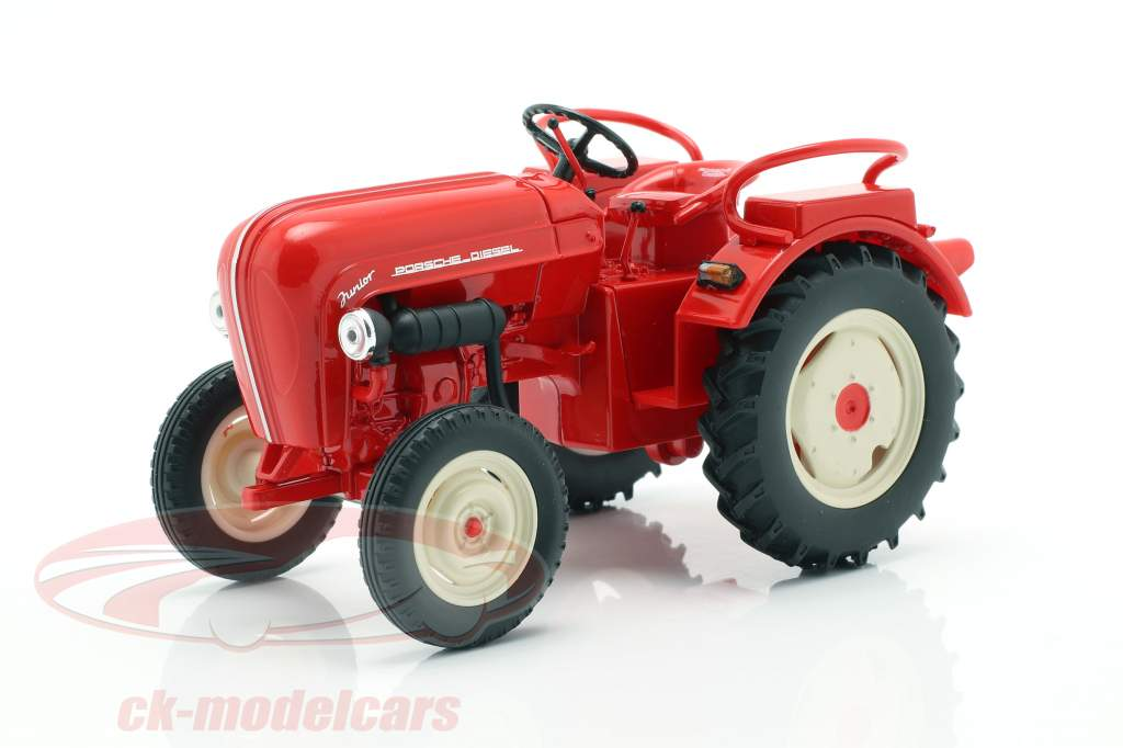 Porsche Junior Traktor rot 1:24 Welly