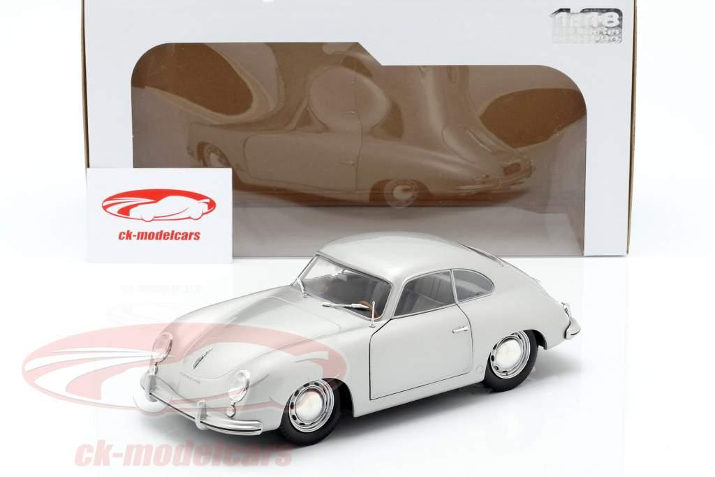 Porsche 356 PRE-A Bouwjaar 1953 zilver 1:18 Solido