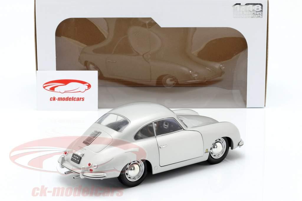 Porsche 356 PRE-A ano de construção 1953 prata 1:18 Solido