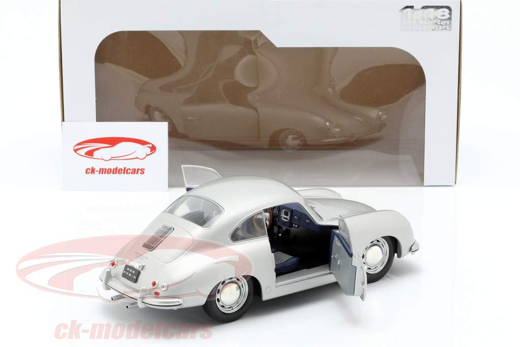Porsche 356 PRE-A Opførselsår 1953 sølv 1:18 Solido