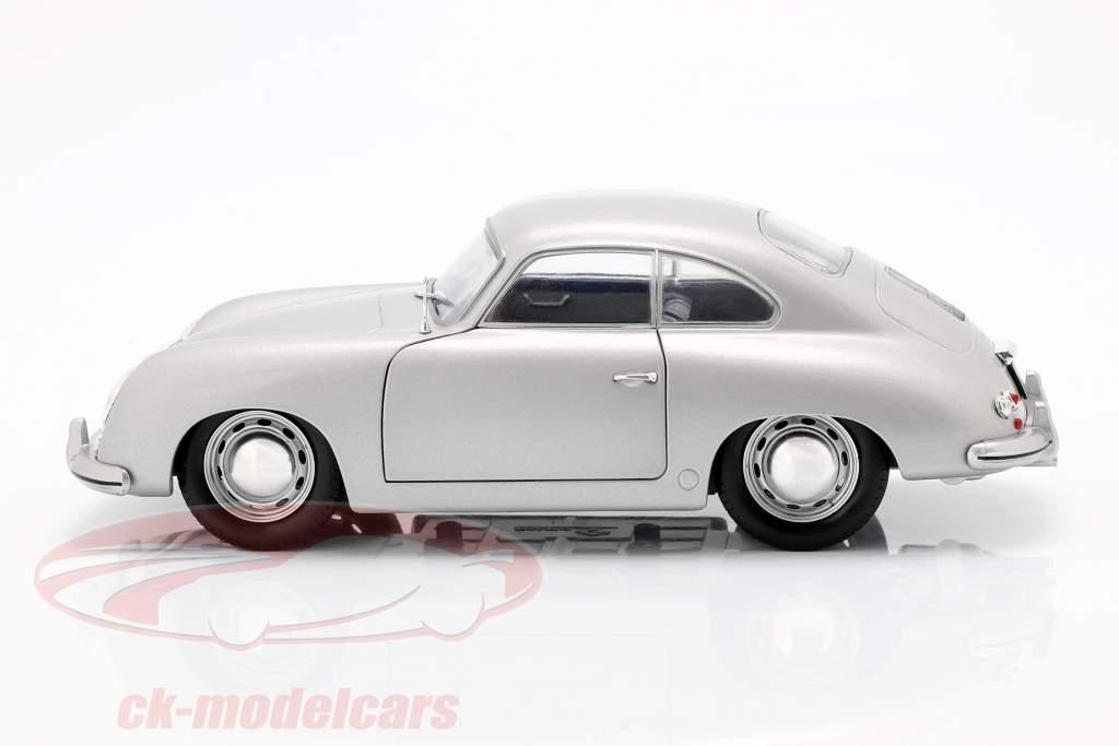 Porsche 356 PRE-A year 1953 silver 1:18 Solido
