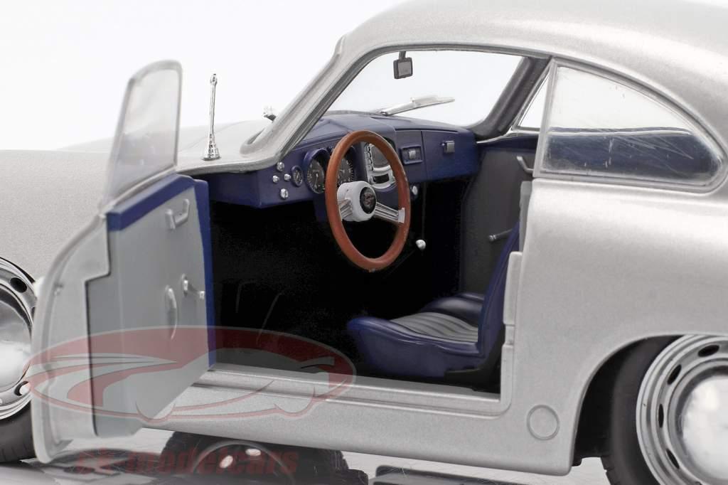 Porsche 356 PRE-A anno di costruzione 1953 argento 1:18 Solido