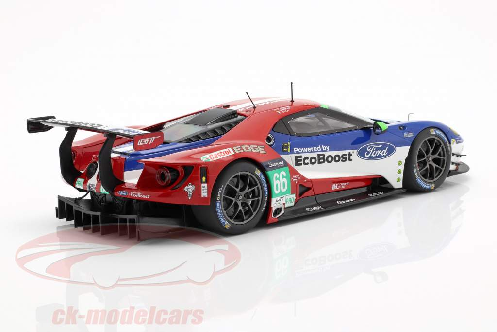 Ford GT #66 24h LeMans 2016 Pla, Mücke, Johnson 1:18 Minichamps