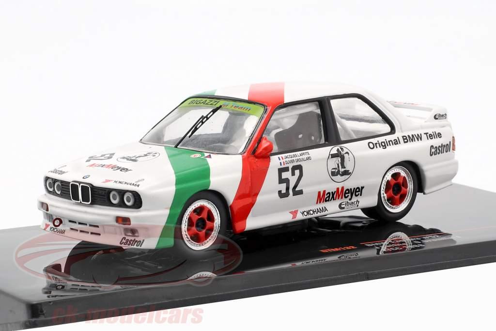 BMW M3 (E30) #52 ETCC 1988 Laffite, Grouillard 1:43 Ixo