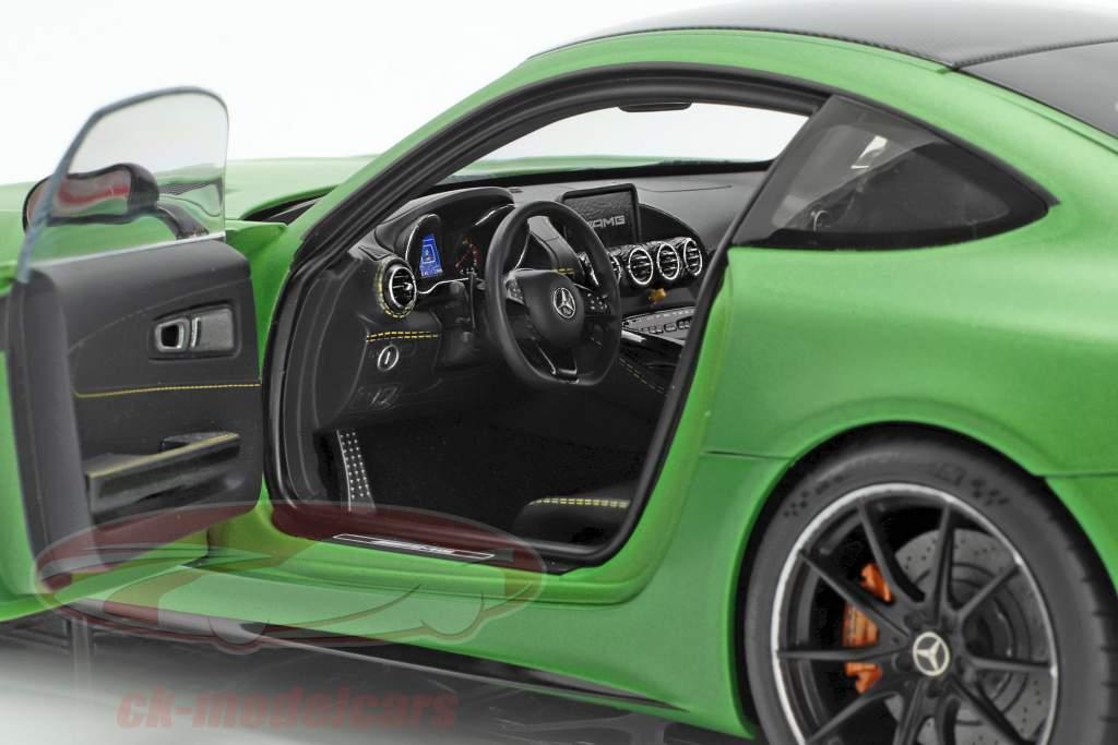 Mercedes-Benz AMG GT R Baujahr 2017 mattgrün metallic 1:18 AUTOart