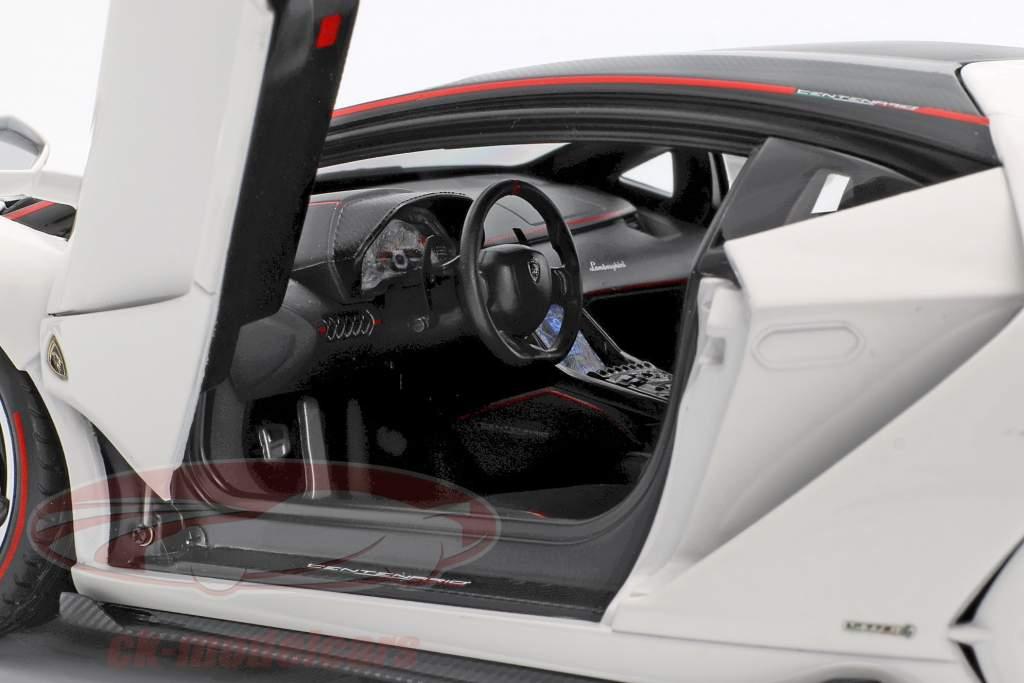 Lamborghini Centenario LP770-4 anno di costruzione 2017 solid bianco 1:18 AUTOart