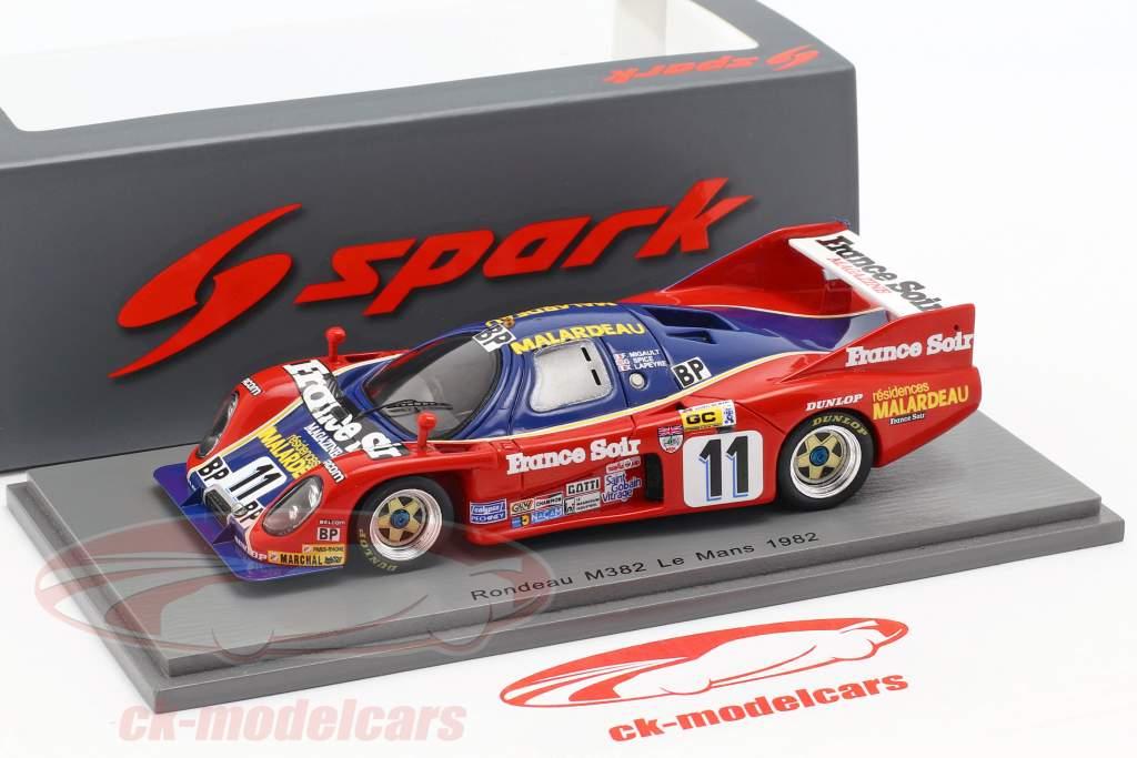 Rondeau M382 #11 24h LeMans 1982 Migault, Spice, Lapeyre 1:43 Spark