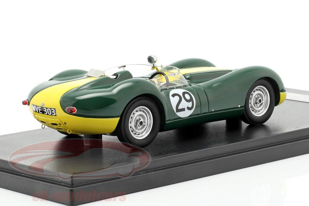 Jaguar Lister #29 gagnant Daily Express Sports Car Race 1958 Moss 1:43 Matrix