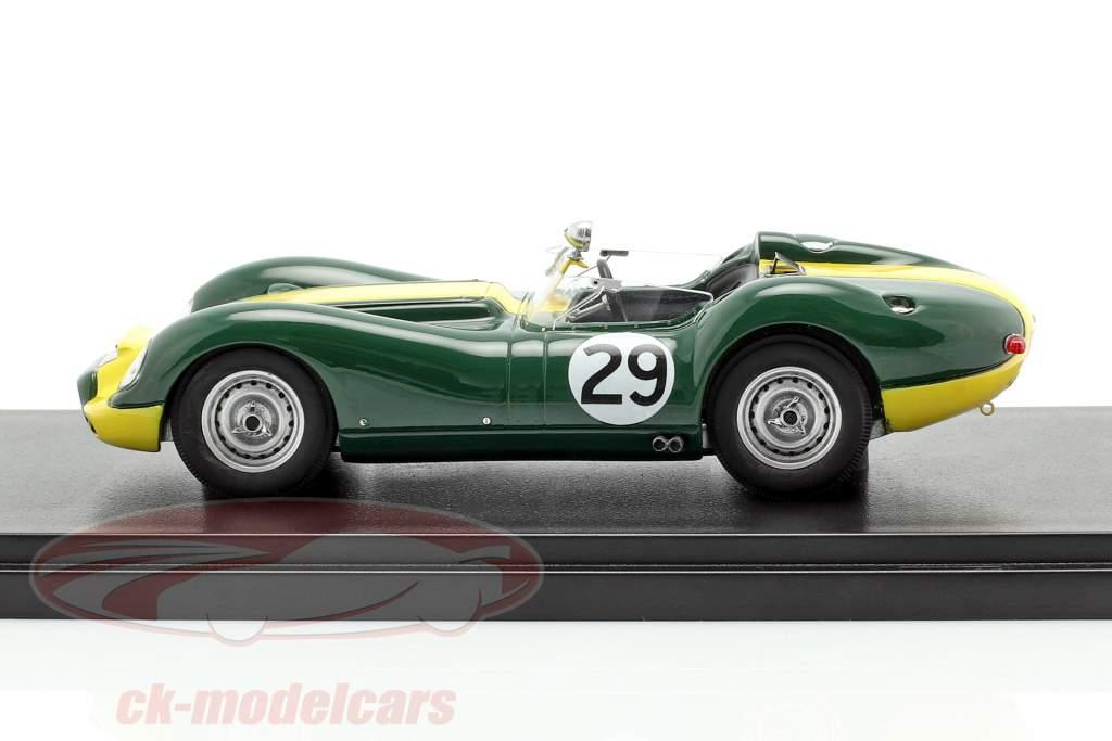 Jaguar Lister #29 vencedor Daily Express Sports Car Race 1958 Moss 1:43 Matrix