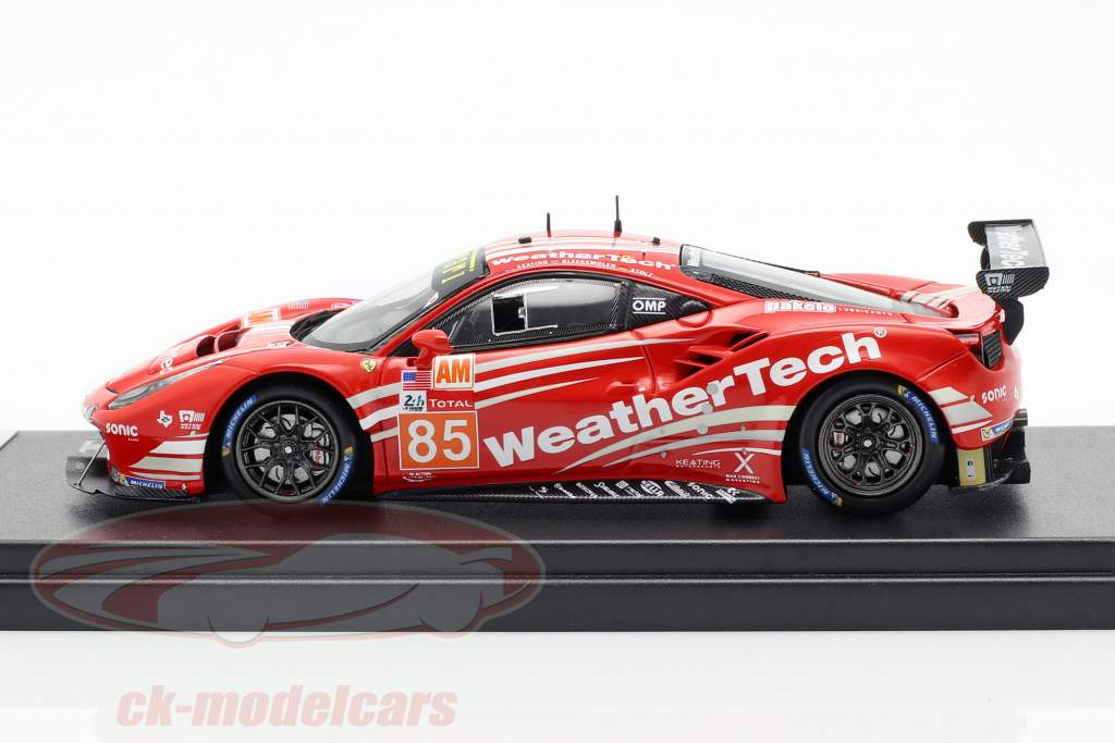 Ferrari 488 GTE #85 tercero LMGTE AM Class 24h LeMans 2018 1:43 LookSmart
