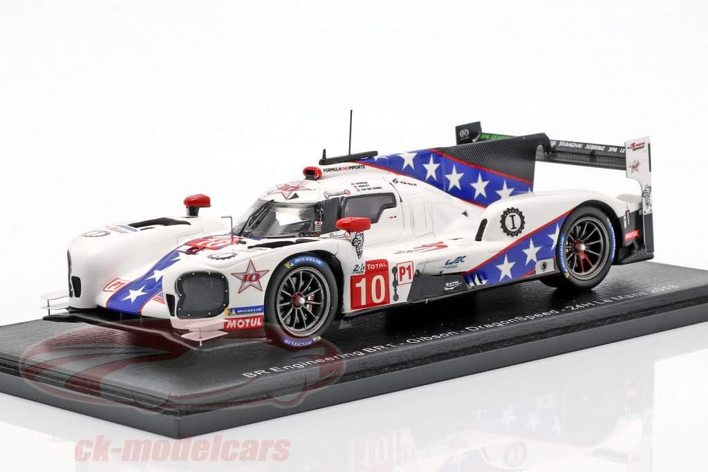 Dallara BR1 #10 24h LeMans 2018 Hanley, Hedman, van der Zande 1:43 Spark