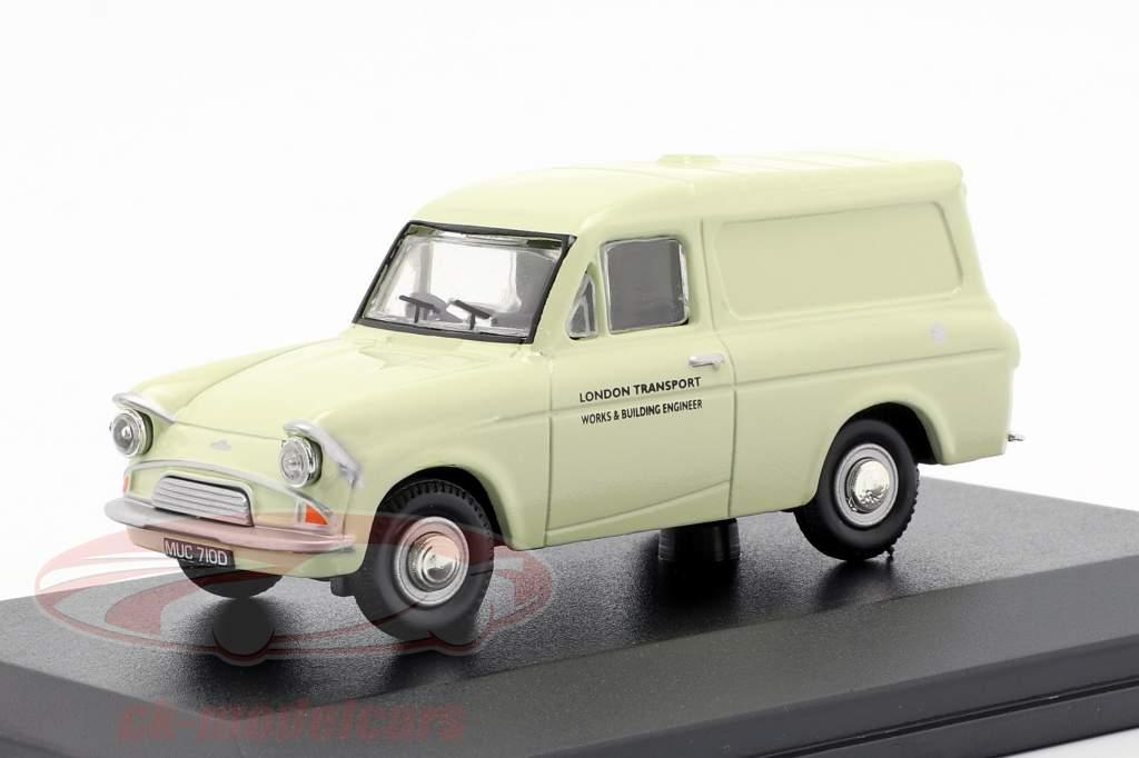 Ford Anglia furgone London Transport crema bianco 1:43 Oxford