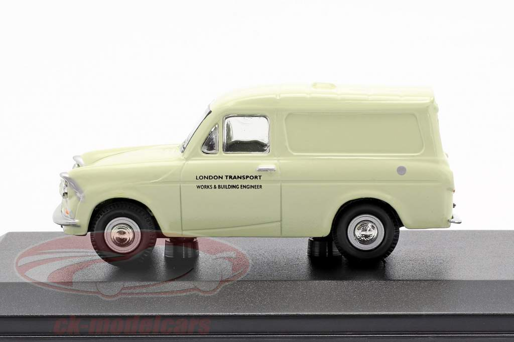 Ford Anglia Van London Transport creme weiß 1:43 Oxford