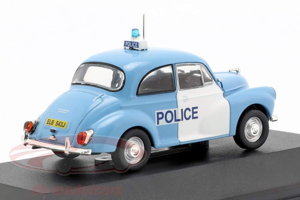 Morris Minor Polizei England Baujahr 1957 hellblau / weiß 1:43 Atlas