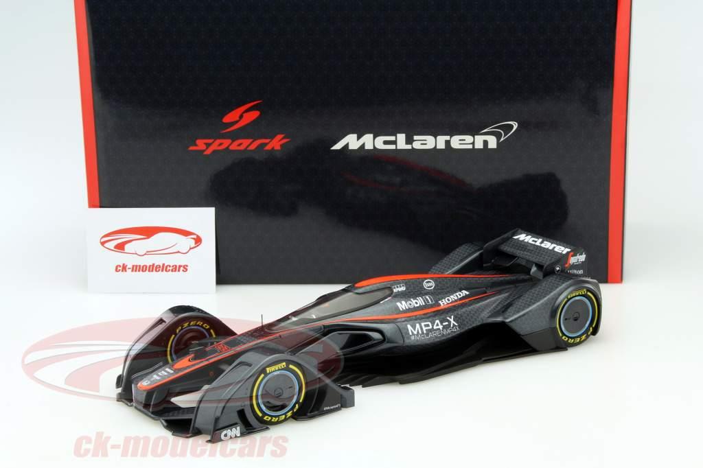 McLaren MP4-X #22 Concept Car 2016 1:18 Spark 2. Wahl
