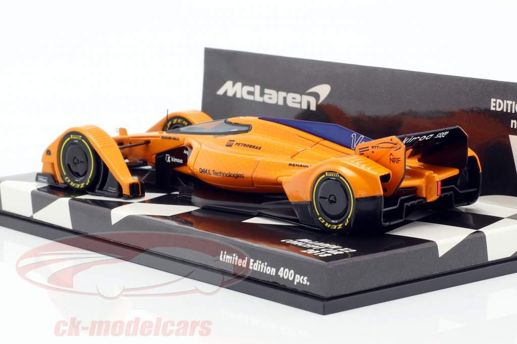 McLaren MP-X2 Concept Car formule 1 2018 1:43 Minichamps