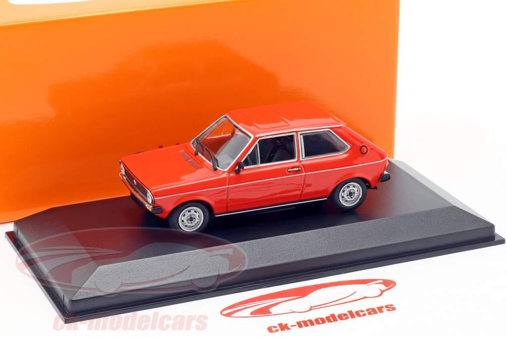 Volkswagen VW Polo année de construction 1979 rouge 1:43 Minichamps