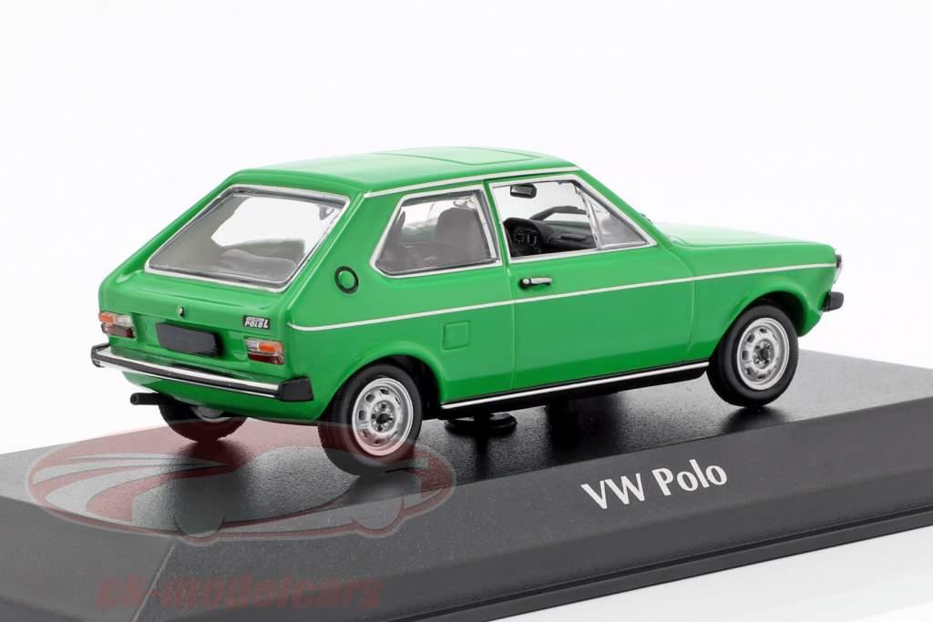 Volkswagen VW Polo year 1979 green 1:43 Minichamps