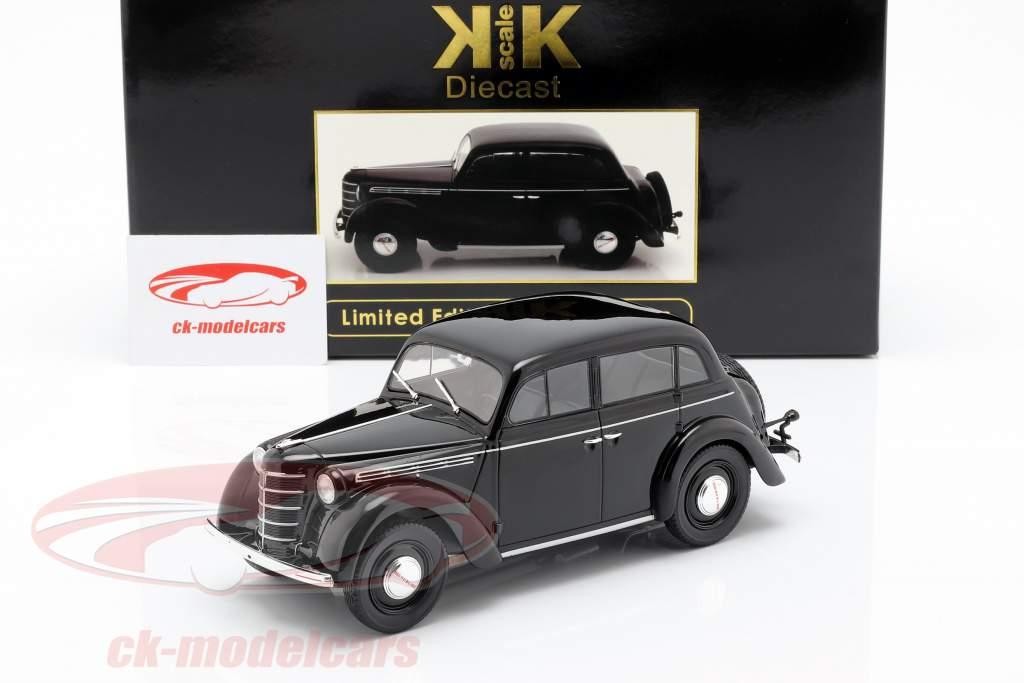 Opel Kadett K38 anno di costruzione 1938 nero 1:18 KK-Scale