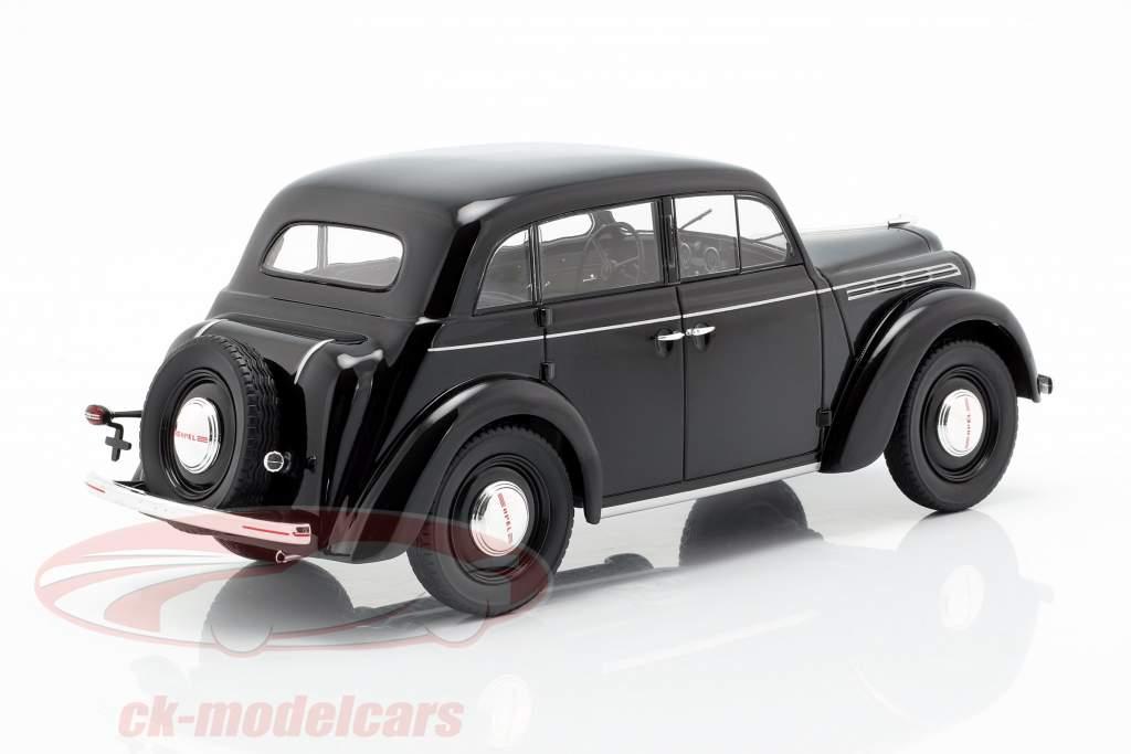 Opel Kadett K38 ano de construção 1938 preto 1:18 KK-Scale
