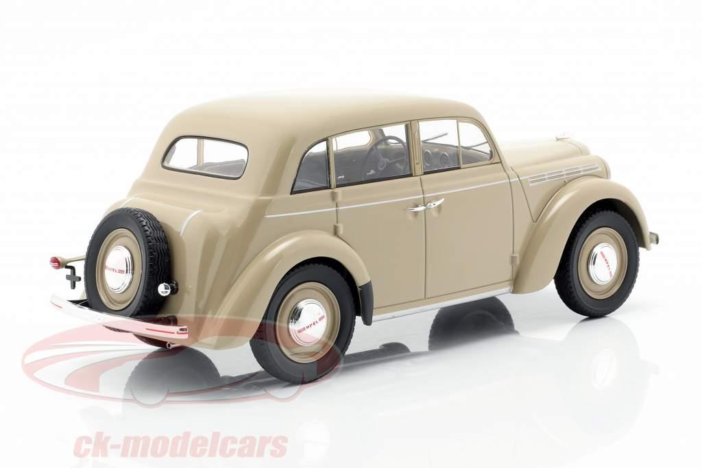 Opel Kadett K38 ano de construção 1938 bronzeado 1:18 KK-Scale